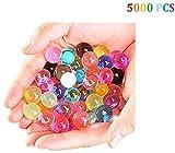 Hosaire 5000 Piezas Perlas de Gel de Agua Cristalinas Mezcladas Bolas...