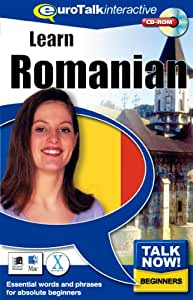 Talk Now Learn Romanian: Essential Words and Phrases for Absolute Beginners (PC/Mac)