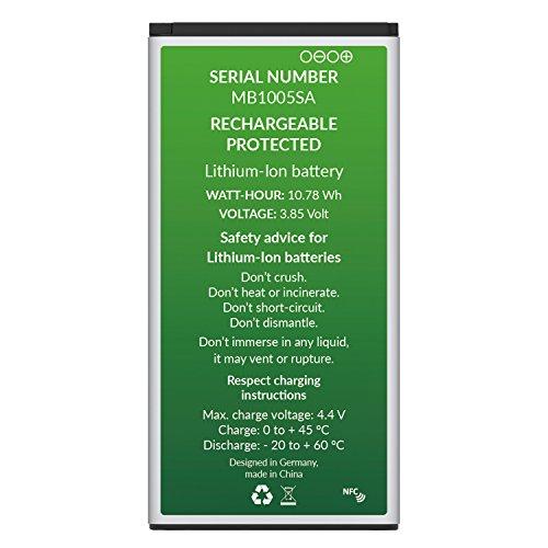 GadFull Akku für Samsung Galaxy S5 | 2018 Baujahr | Wie EB-BG900BBE EB-BG900 | Galaxy S5 SM-G900F | Batterie Accu Battery