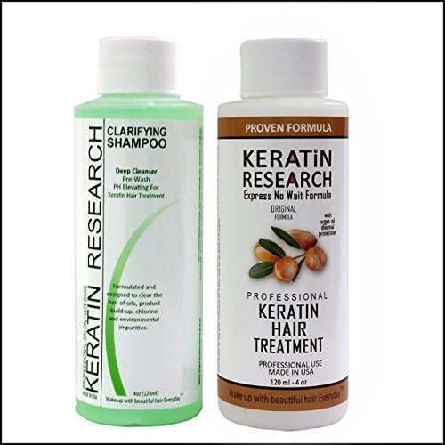 Complex Brazilian Keratin Hair Blowout Treatment Professional Results Straightens and Smooths Hair (CS 120ml + KT 120ml) Queratina Keratina Brasilera Tratamiento