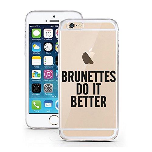 iPhone 6S Hülle von licaso® für das Apple iPhone 6 & 6S aus TPU Silikon Brunettes Do It Better Brünette Braun Muster ultra-dünn schützt Dein iPhone & ist stylisch Schutzhülle (Haarige Hände Braun)
