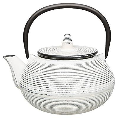 Berghoff Théière en fonte de style japonais, 750ml, Blanc