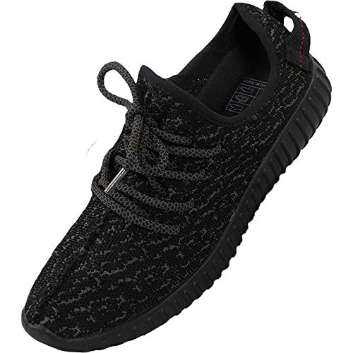 31d01352bee LADIES RUNNING TRAINERS WOMENS FITNESS GYM SPORTS YEEZY BOOST SHOCK SHOES  36-41 Black