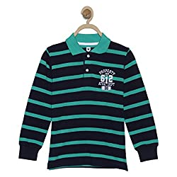 612 League Boys T-Shirt (ILW17I16011_Green_9-10 Years)