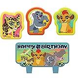 Velas de cumpleaños de la Guardia de León de Disney (paquete de 4)