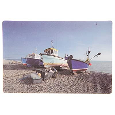 Fishing Boats Seaside 3D Postcard (Buy one get one free)