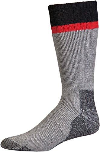 Crew Heavyweight Crew Socken (Mossy Oak Herren Bergsteiger Acryl Wolle Hohe Gewicht Crew Socken, Herren, schwarz)
