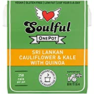 Soulful Food Sri Lankan Cauliflower and Kale with Quinoa, 380 g