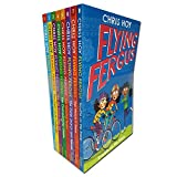 Flying Fergus Series 8 Books Collection Set Pack(Best Birthday Bike,Great Cycle Challenge,Big Biscuit Bike Off,Championship Cheats,Winning Team,Cycle Search & Rescue,Wreck-It Race,Trouble on theTrack)