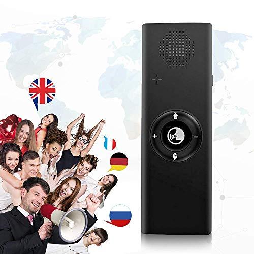 MOGOI Übersetzer Sprache, Intelligentes Sprachübersetzer-Gerät, Instant Offline-Sprachübersetzer-Handgerät Tragbare Echtzeitunterstützung 40 Sprachen Übersetzung