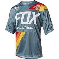 Fox Demo SS Drafter Jersey, Blue, Tamaño L