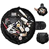 Watooma Travel Makeup Storage Bag Toiletry Bags Bathroom Storage Portable Quick Pack, Easy Carry Makeup Train Case