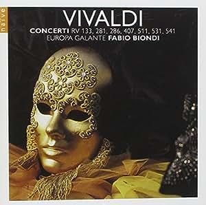Vivaldi : Concerti, Rv 133, 281, 286, 407, 511, 531, 541