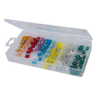 Silverline 298083 Mini Fuse Set ATN, Set of 120 Pieces