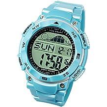 [Lad Weather] reloj con gráfica de las mareas, fase de la luna,