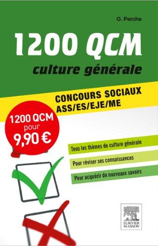 1 200 QCM Culture gnrale Concours sociaux