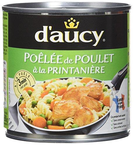 d'aucy Poêlée de Poulet à La Pri...