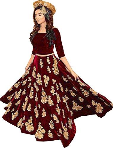 Amit Fashions Indische Designerin Lehenga Choli (Indische Choli Lehenga)