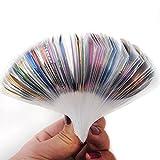 Fashion Galerie 30x Nageldesign Zierstreifen Striping Nail Art Streifen Stripes Stripe Sticker Nagel...