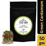 Lev's Farm Gourmet Kerala Whole Green Cardamom 50 g (Elaichi)