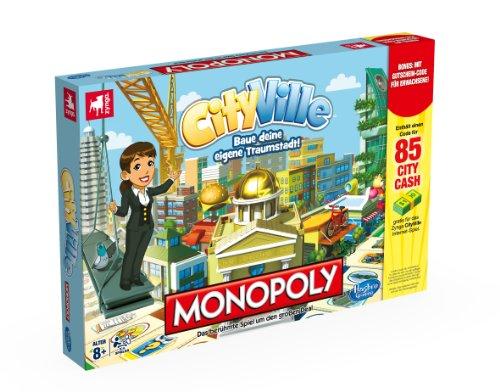 Hasbro Monopoly City Ville - Juego Tablero Multi