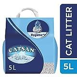 CATSAN Hygiene Plus - Litière Minérale pour Chat, 1 Sac de 5L