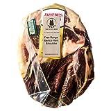 2,5 Kg+ Paleta Iberica de Cebo de Campo JABUGO Deshuesada | 18-24 meses de curacion Jamon Iberico Deshuesado Etiqueta Verde | Pata Negra Soin Hueso