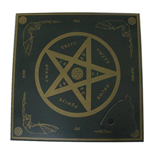Witchboard Pentagramm klein in englisch handgearbeitet - Hexenbrett - Esoterik Magie