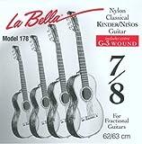 La Bella 653959.0 - Cuerdas para guitarras clásicas
