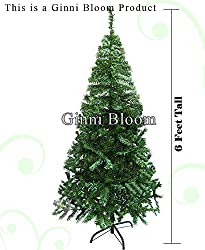 Ginni Bloom Artificial Christmas Tree (Green 6 Feet Tall)