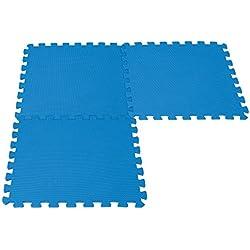 Intex 50970 - Pack de 8 protectores de suelo para piscinas, 50 x 50 x 1 cm