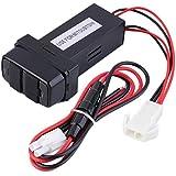 New Dual USB Puertos para salpicadero de coche cargador rápido 5V para Mitsubishi coche caliente venta