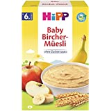 Hipp biologique et des céréales Bon Matin porridge Bircher muesli, 6-pack (6 x 250g)