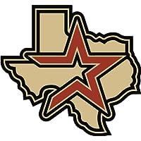 Houston Astros Logo MLB Baseball De Haute Qualite Pare-Chocs Automobiles Autocollant 12 x 12 cm