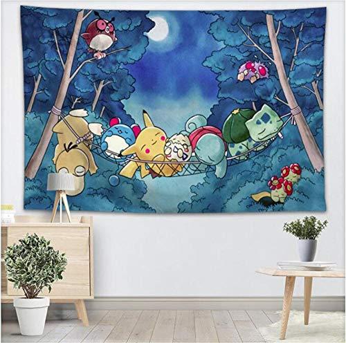 Tapices Pokemon Colgante De Pared Pieza De Muestra