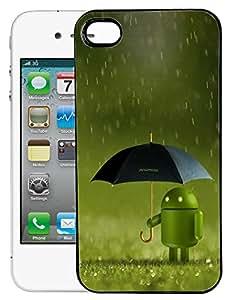FCS Printed 2D Designer Hard Back Case For Apple iPhone 4