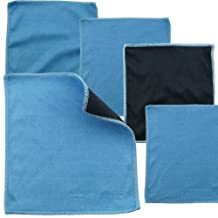 Eco-Fused Microvezel-reinigingsdoeken - 5-pack - Dubbelzijdige reinigingsdoeken - Microvezel- en suède doek voor smartphones, lcd-tv, tablets, laptopschermen, cameralenzen en andere gevoelige oppervlakken