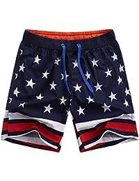 Pantalones Cortos - Bañador de natación bermudas - Shorts de playa para hombre
