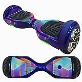 HCFKJ 6,5 Zoll Self-Balancing Scooter Skin Hover Elektro Skate Board Aufkleber Zwei-Rad Smart Schutzhülle Fall Aufkleber (I)