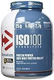 Dymatize ISO 100 Hydrolyzed Poudre d'Isolat de Protéines Faible en Sucre Riche en Protéines Chocolat Caramel 2,2 kg