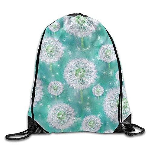 Etryrt Prime Sacs à Cordon,Sac à Dos, Dandelion Drawstring Backpack Rucksack Shoulder Bags Training Gym Sack for Man and Wom