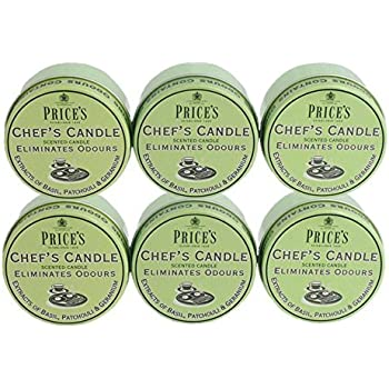 Prices Chefs Candle in Jar Eliminates Cooking Cooks Kitchen Odour