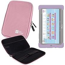 DURAGADGET Funda Rígida Rosa Para Cefatronic - Tablet Clan Motion Pro - Ideal Para Proteger Su Dispositivo