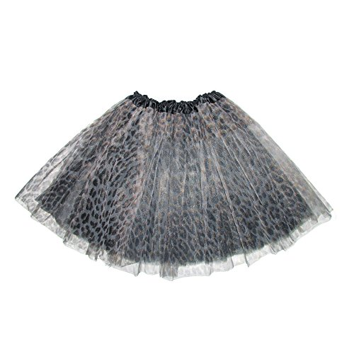 Wie Ballett-tutu Man (Mangotree Mädchen Tütü Minirock Organza Pettiskirt 3 Layers Petticoat Tanzkleid Unterrock Perfekt für Fasching)