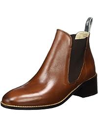 Marc O'Polo Damen Mid Heel Chelsea 70714165101101 Boots