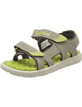 Timberland Perkins Row 2-Strap Medium Grey Synthetic Youth Strap Sandals