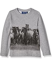 Tom Tailor with Print, Sweat-Shirt Fille