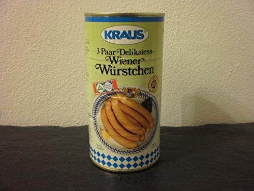3 Paar Wiener Würstchen vom Metzger keine Industrieware Konserven