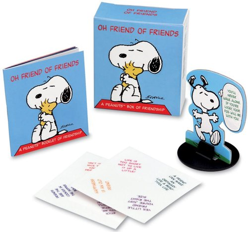 : A Peanuts Box of Friendship [With Cardbrd Stand-Up Snoopy & 8 Clingable WD Balloons] (Ubox Kits) ()