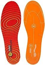 X-Socks Impact Reducer - Plantillas de calzado reductoras de impacto (talla M), color rojo
